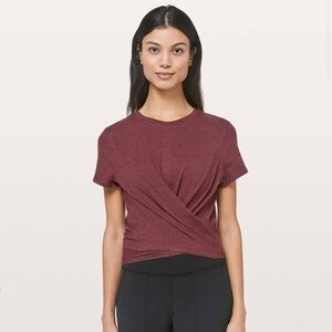 lululemon Time To Restore SS (NWT)